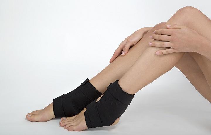 замотаные ноги